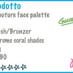KIKO – Posh Couture face palette