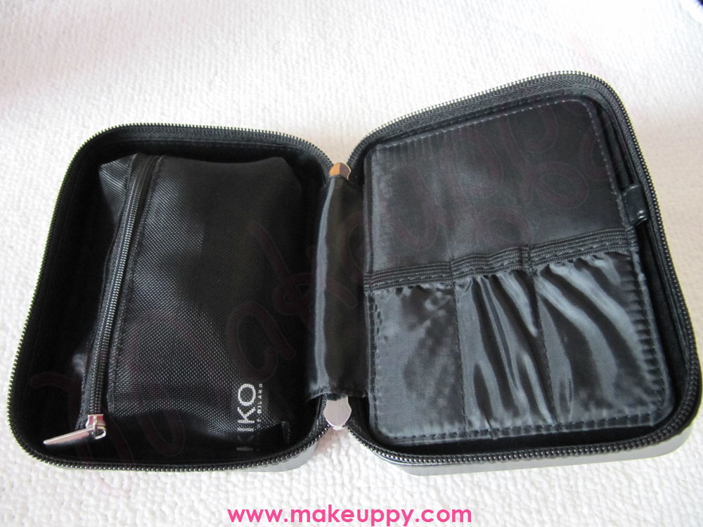Kiko nail care travel case makeuppy beauty blog makeup - Case trasportabili ...