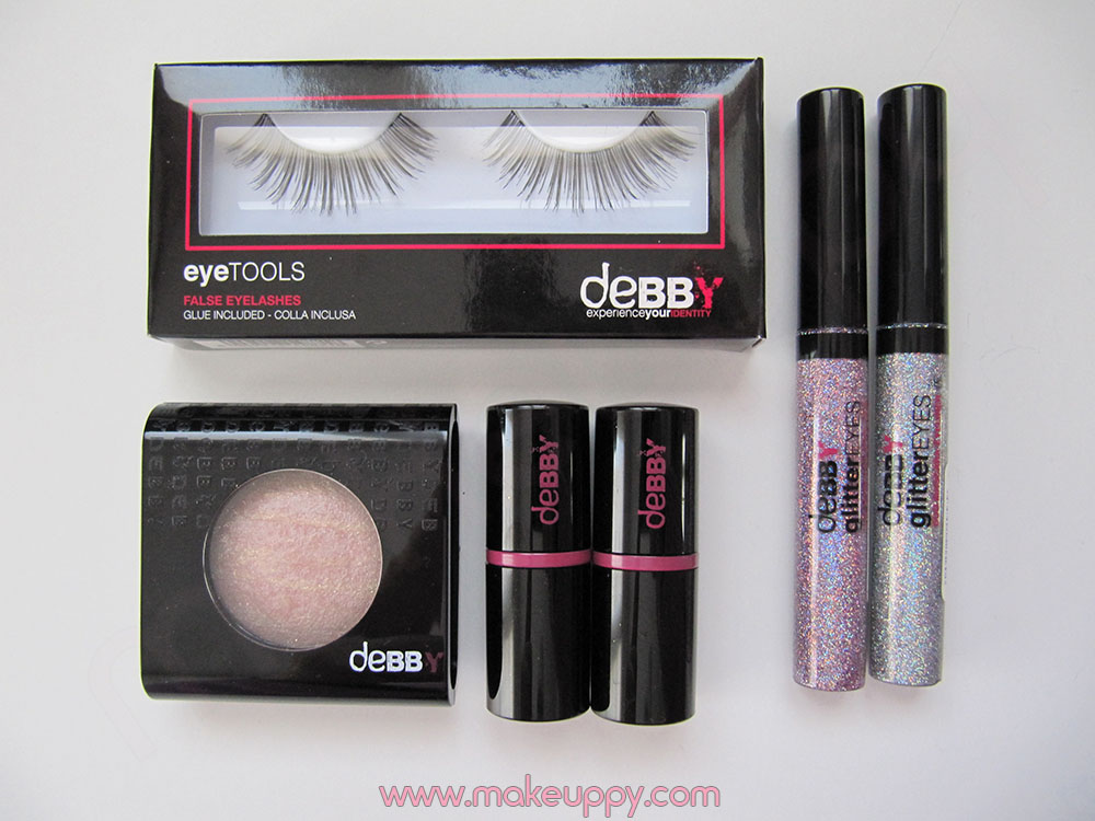 Debby Glitter Club Collection Makeuppy Beauty Blog