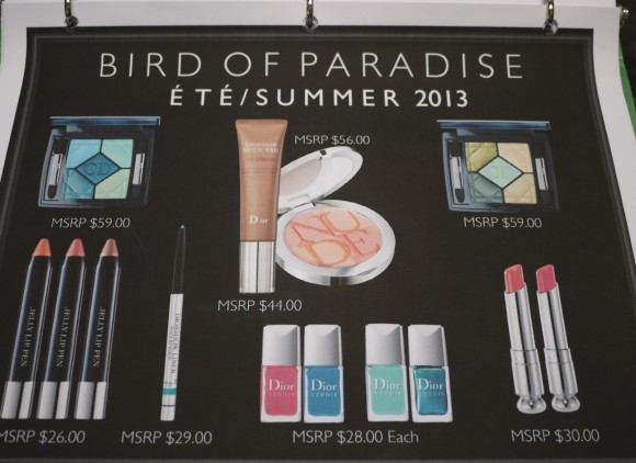 Preview Dior Summer Collection 2013