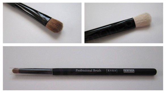 PUPA Review Professional Eyes and Lips Brushes