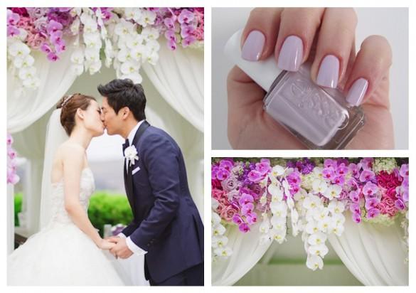 Bridal manicure: abbina lo smalto al tuo wedding theme