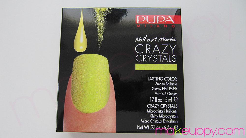 Pupa Crazy Crystals Kit Fluo Yellow Makeuppy Beauty Blog Makeup News Reviews Amp Tutorials