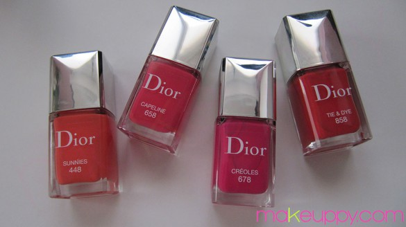 DIOR Review Vernis Summer Mix 2013