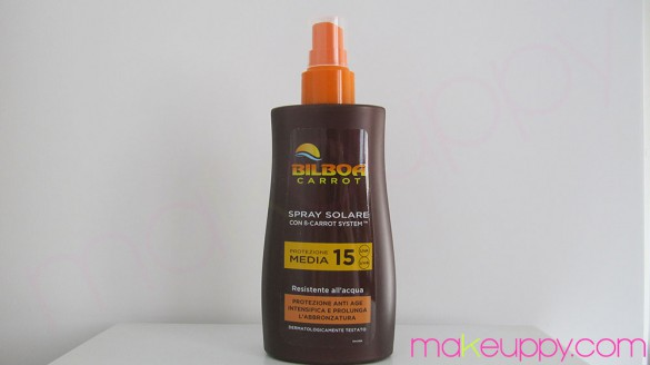 BILBOA Carrot Spray Solare SPF15