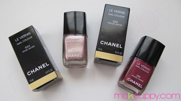 CHANEL Smalti Rouge Allure Moire Collection