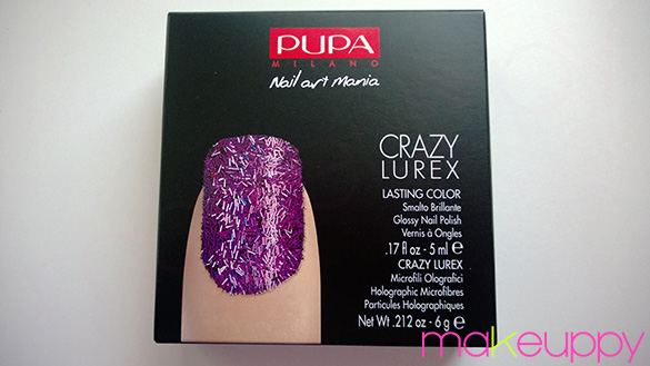PUPA Crazy Lurex Nail Kit