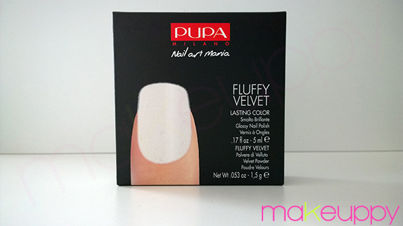 PUPA Fluffy Velvet Nail Kit