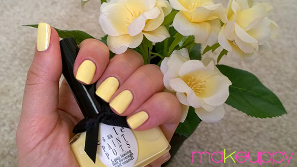 Waterlilies inspired manicure