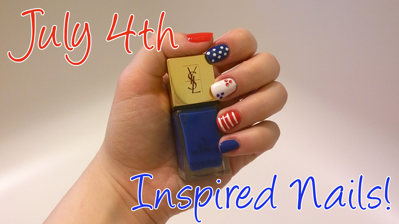 July 4th Inspired Manicure | Makeuppy Beauty Blog
