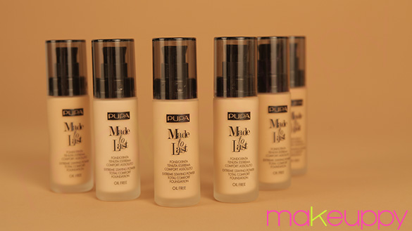 New PUPA Made To Last Foundation