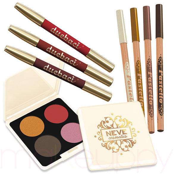Preview Neve Cosmetics Mistero Barocco Collection
