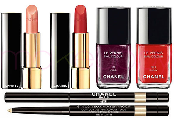 Chanel Plumes Précieuses Collection Holiday 2014
