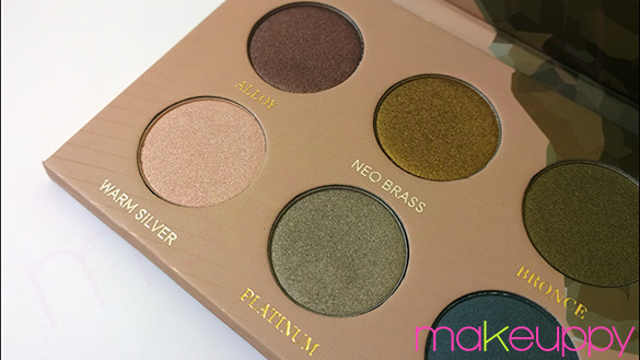 ZOEVA Mixed Metals Palette
