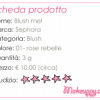 Sephora – Blush me!
