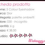 Dior – 5 Colour Eyeshadow