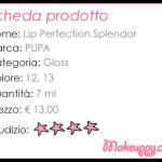 PUPA – Lip Perfection Splendor