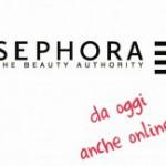 SEPHORA – Aperto lo store italiano online