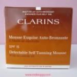 Clarins – Mousse Exquise Auto-Bronzante SPF15