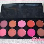 Zoeva – 10 Palette blush