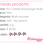 Dior – Pro Cheecks blush