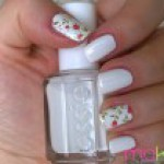 Easy White Manicure Tutorial